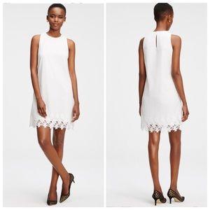 Ann Taylor white lace dress